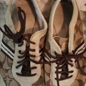 Coach women's tennis shoes